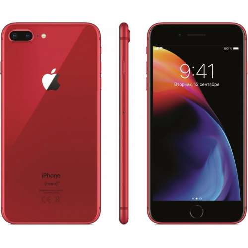 Apple iPhone 8 Plus (PRODUCT)RED™ Special Edition 64GB фото 4