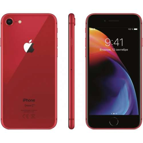 Apple iPhone 8 (PRODUCT)RED™ Special Edition 256GB фото 4