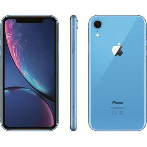 Apple iPhone XR 256GB Dual SIM (синий) фото 4