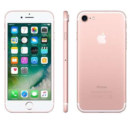 Смартфон Apple iPhone 7 256GB Rose Gold фото 3