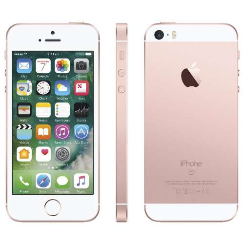 Смартфон Apple iPhone SE 32GB Rose Gold фото 4