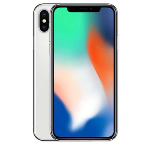 Смартфон Apple iPhone X 256GB (серебристый) фото 1