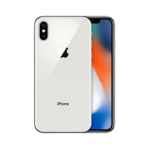 Смартфон Apple iPhone X 256GB (серебристый) фото 2