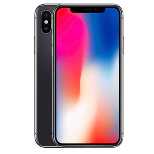 Смартфон Apple iPhone X 256GB (серый космос) фото 2
