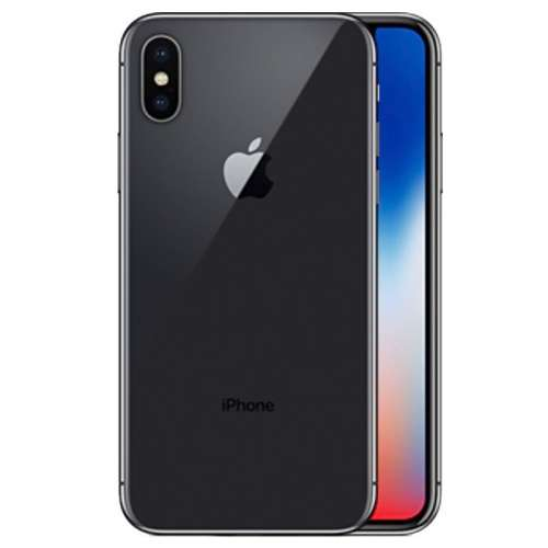 Смартфон Apple iPhone X 256GB (серый космос) фото 3