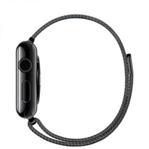 Умные часы Apple Watch 38mm Space Black with Space Black Milanese Loop [MMFK2] фото 2
