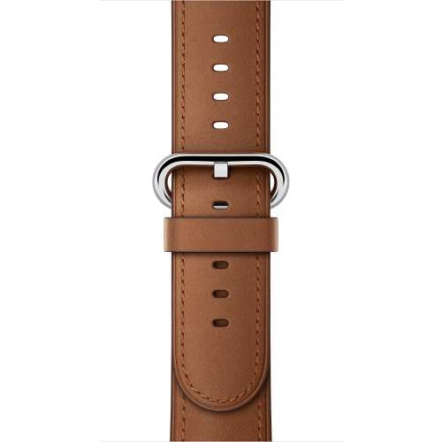 Умные часы Apple Watch 38mm Stainless Steel with Saddle Brown Classic [MMF72] фото 3