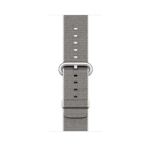 Умные часы Apple Watch Series 2 38mm Silver with Pearl Woven Nylon [MNNX2] фото 3