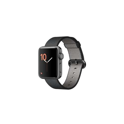 Умные часы Apple Watch Series 2 38mm Space Gray with Black Woven Nylon [MP052] фото 1