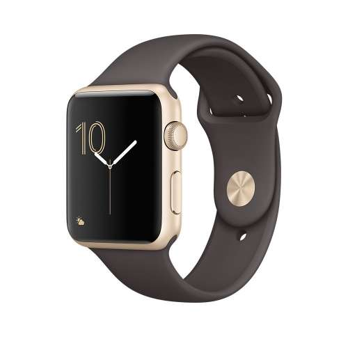Умные часы Apple Watch Series 2 42mm Gold with Cocoa Sport Band [MNPN2]  фото 2