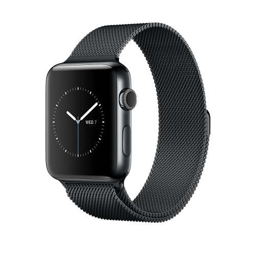 Умные часы Apple Watch Series 2 42mm Space Black with Milanese Loop [MNQ12] фото 2