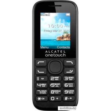 Alcatel One Touch Black [1052D]