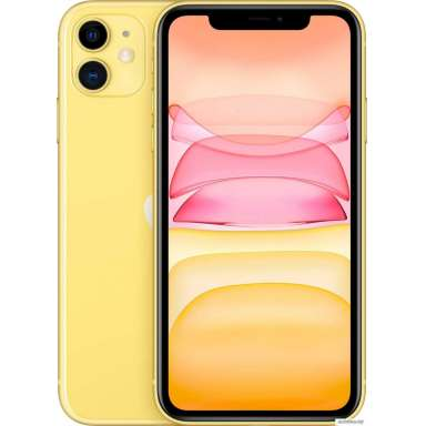 Apple iPhone 11 64GB Dual SIM (желтый)