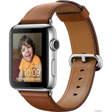 Apple Watch Series 2 38mm Stainless Steel with Classic Buckle [MNP72]