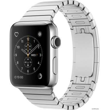 Apple Watch Series 2 38mm Stainless Steel with Link Bracelet [MNP52]