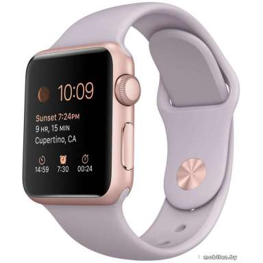 Apple Watch Sport 38mm Rose Gold with Lavender Sport Band (MLCH2)