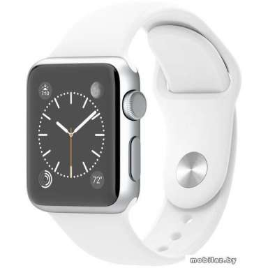 Apple Watch Sport 38mm Silver with White Sport Band (MJ2T2)