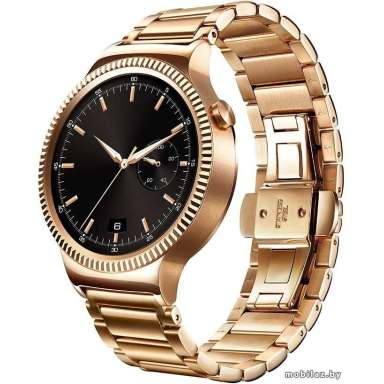 Huawei Watch Rose Gold with Rose Gold Link Band