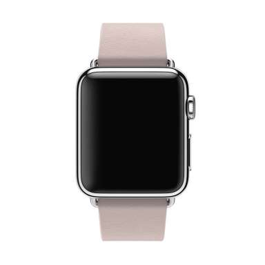 Apple Watch 38mm Stainless Steel with Soft Pink Modern Buckle [MJ372]