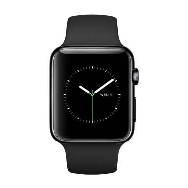 Apple Watch Edition 38mm Space Black with Black Sport Band (MLCK2)