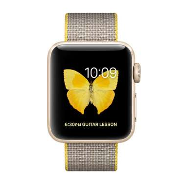 Apple Watch Series 2 38mm Gold with Woven Nylon [MNP32]