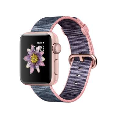 Apple Watch Series 2 38mm Rose Gold with Woven Nylon [MNP02]