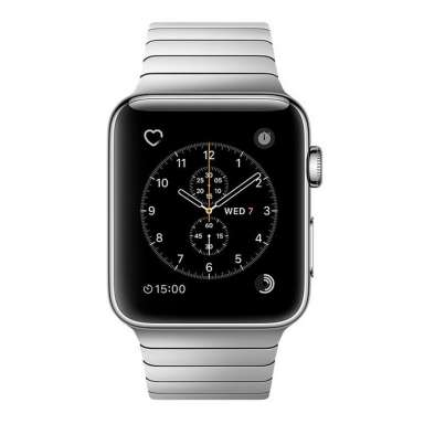 Apple Watch Series 2 42mm Stainless Steel with Link Bracelet [MNPT2]