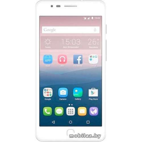 Смартфон Alcatel One Touch Pop Up White [6044D] фото 1