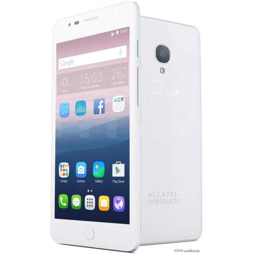 Смартфон Alcatel One Touch Pop Up White [6044D] фото 3