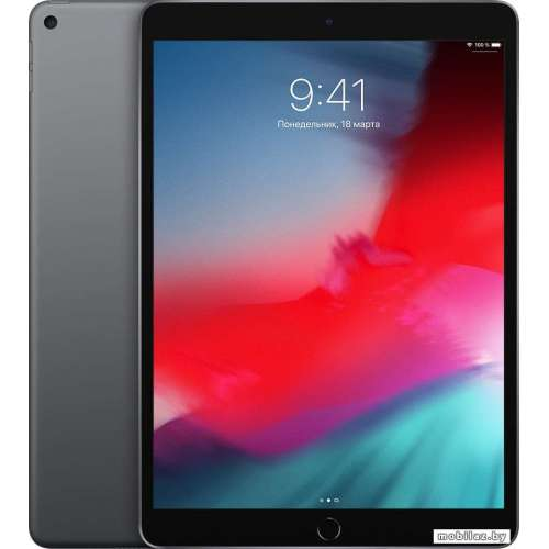 Планшет Apple iPad Air 2019 256GB MUUQ2 (серый космос) фото 1