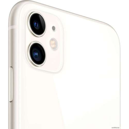 Смартфон Apple iPhone 11 128GB (белый) фото 3