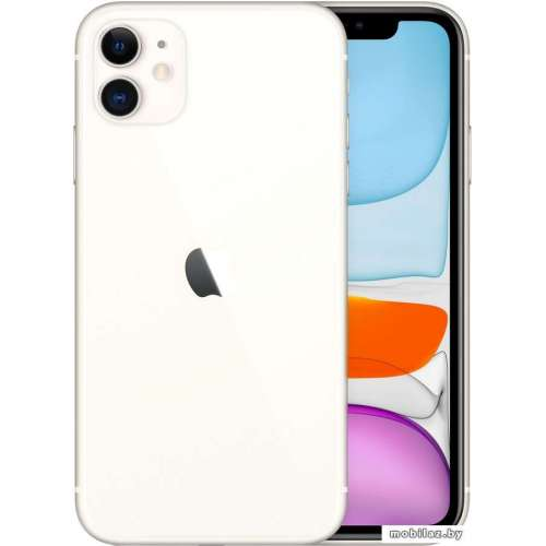 Смартфон Apple iPhone 11 128GB (белый) фото 4