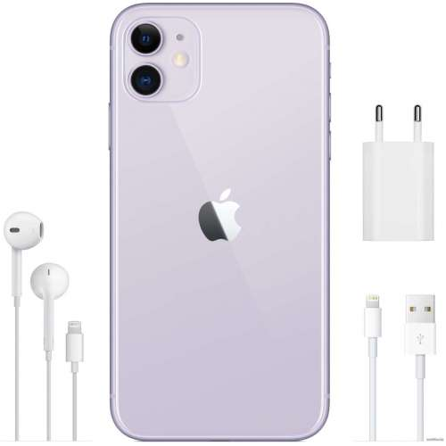Смартфон Apple iPhone 11 256GB (фиолетовый) фото 5