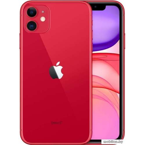Смартфон Apple iPhone 11 256GB (PRODUCT)RED™ фото 4