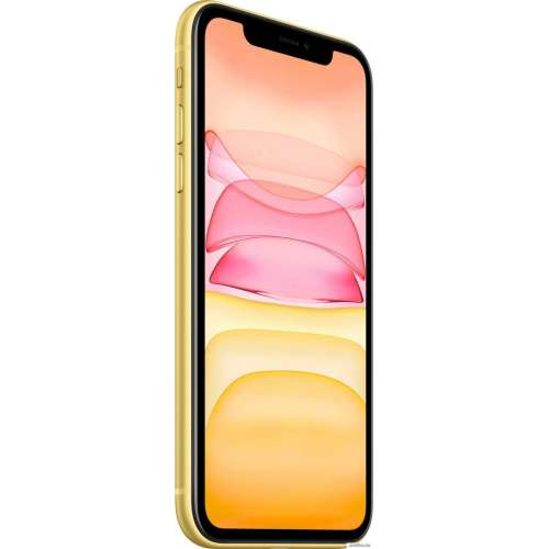 Смартфон Apple iPhone 11 256GB (желтый) фото 2