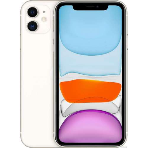 Смартфон Apple iPhone 11 64GB (белый) фото 1