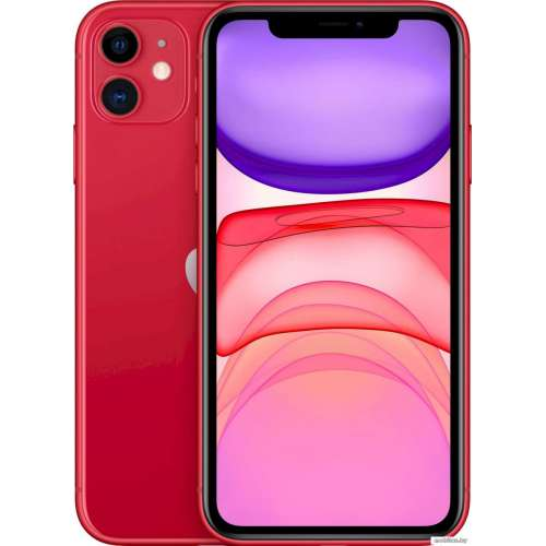 Смартфон Apple iPhone 11 64GB (PRODUCT)RED™ фото 1