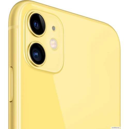 Смартфон Apple iPhone 11 64GB (желтый) фото 3