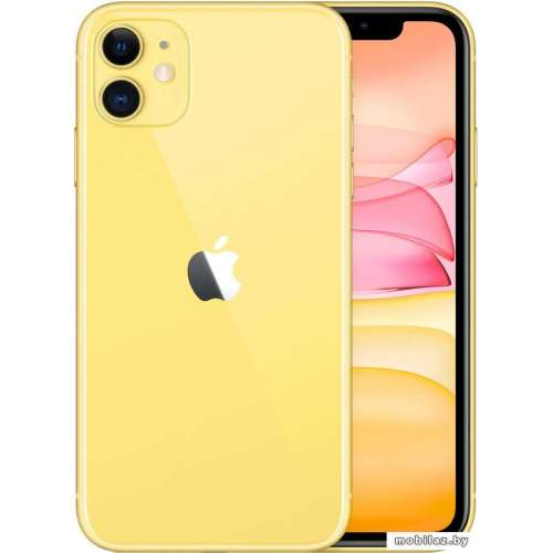 Смартфон Apple iPhone 11 64GB (желтый) фото 4