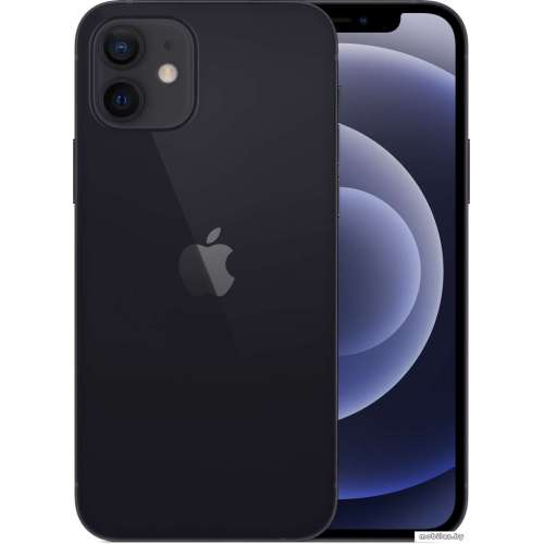 Смартфон Apple iPhone 12 64GB (черный) фото 1