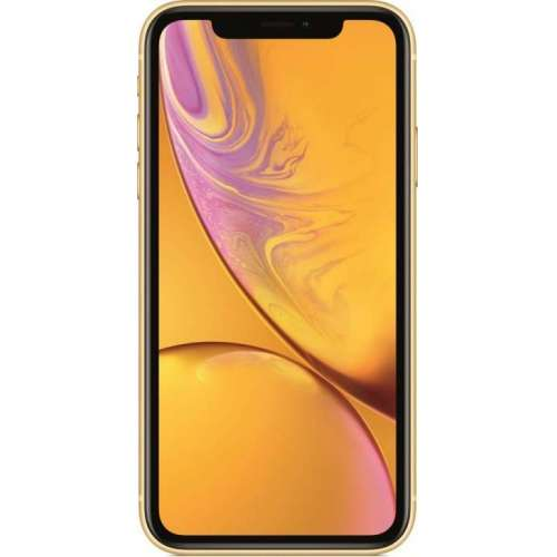 Apple iPhone XR 128GB Dual SIM (желтый) фото 1