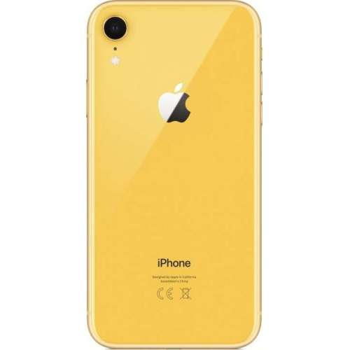 Apple iPhone XR 128GB Dual SIM (желтый) фото 2