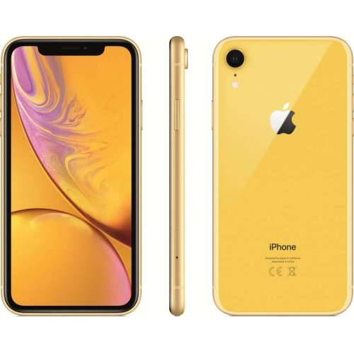 Apple iPhone XR 128GB Dual SIM (желтый) фото 4