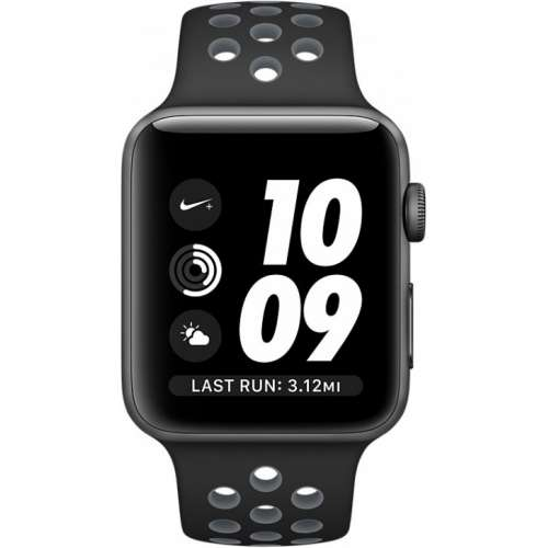 Apple Watch Nike+ 38mm Space Gray with Black/Cool Gray Band [MNYX2] фото 2