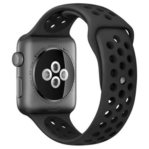 Apple Watch Nike+ 42mm Space Gray with Black Nike Sport Band [MQ182] фото 3