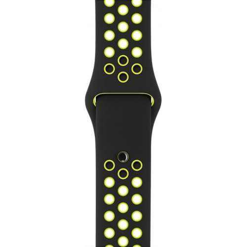 Apple Watch Nike+ 42mm Space Gray with Black/Volt Nike Band [MP0A2] фото 3
