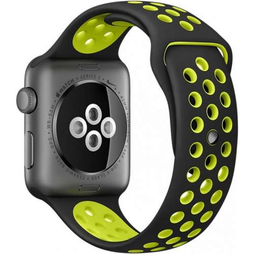Apple Watch Nike+ 42mm Space Gray with Black/Volt Nike Band [MP0A2] фото 4