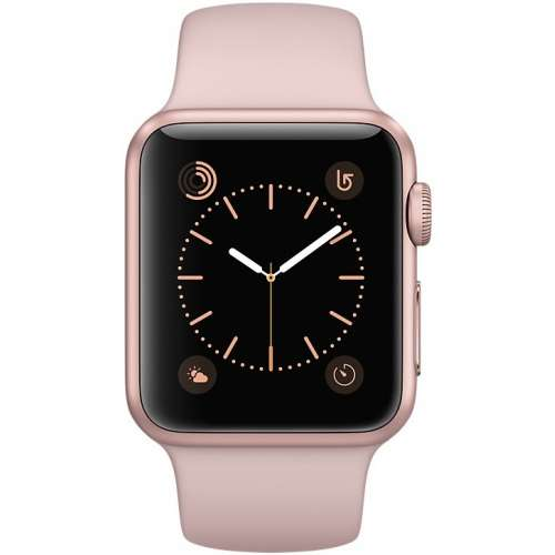 Apple Watch Series 2 42mm Rose Gold with Pink Sand Sport Band [MQ142] фото 2