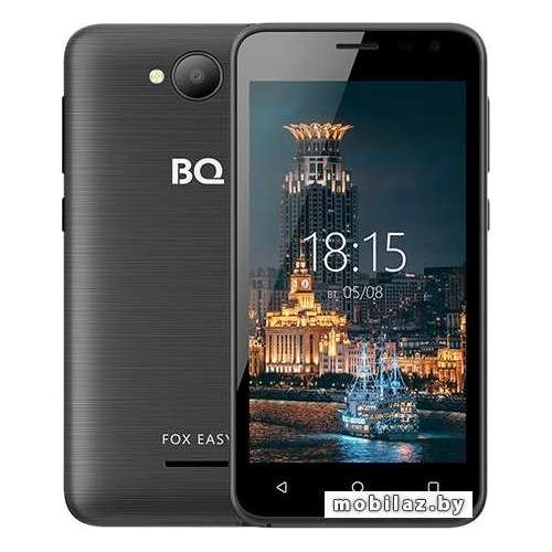 Смартфон BQ-Mobile BQ-4501G Fox Easy (черный) фото 1