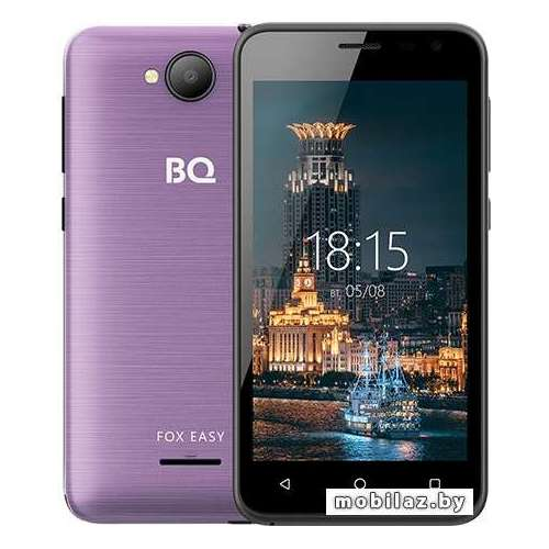 Смартфон BQ-Mobile BQ-4501G Fox Easy (фиолетовый) фото 1
